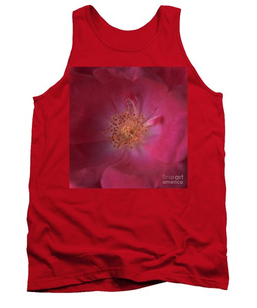 Tank Top featuring the photograph Tea Rose by Debra Fedchin