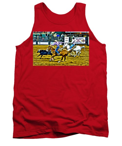 Team Ropers Tank Top