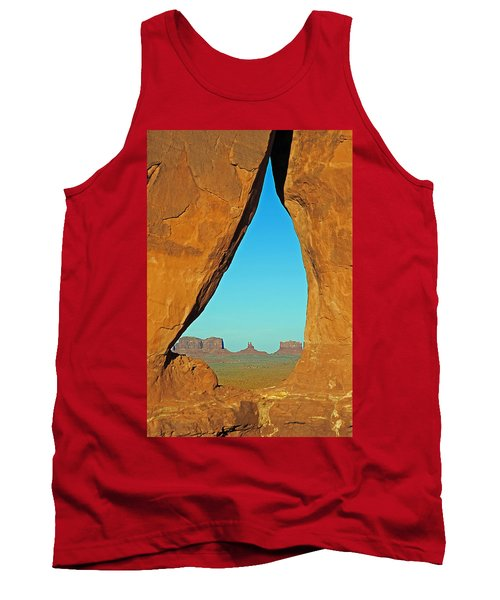 Tear Drop Arch Monument Valley Tank Top