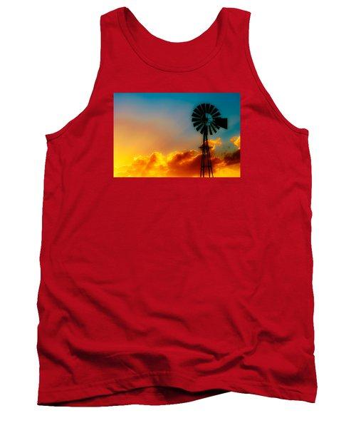 Tank Top featuring the photograph Texas Sunrise by Darryl Dalton