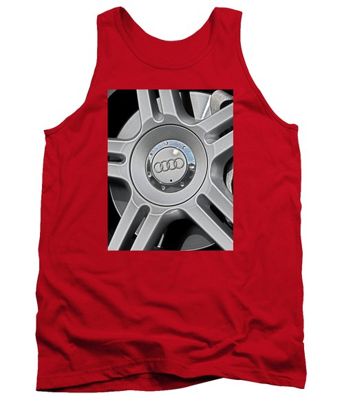 The Audi Wheel Tank Top