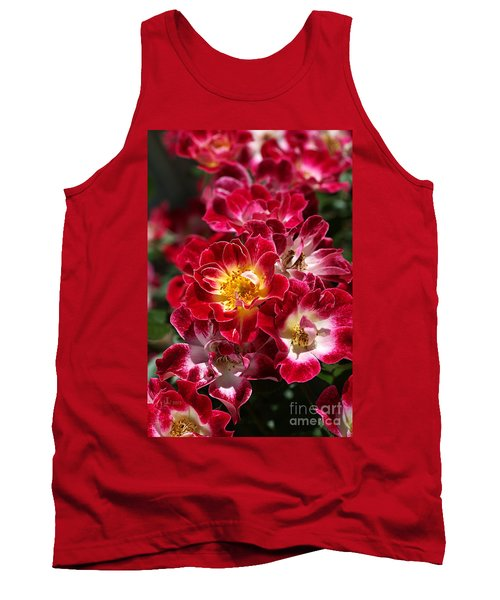 The Beauty Of Carpet Roses  Tank Top