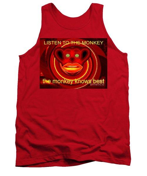 The Broadcast Monkey Tank Top by Catherine Lott