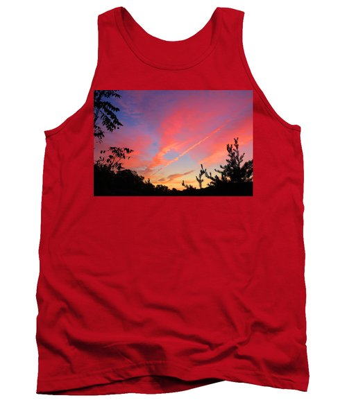 Tank Top featuring the photograph The Color Gets Good by Kathryn Meyer