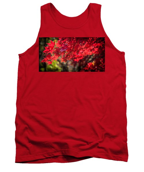 Tank Top featuring the photograph The Color Of Fall by Patrice Zinck