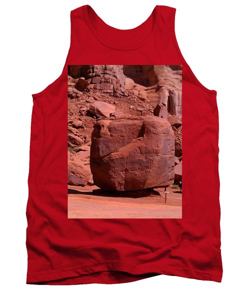 Tank Top featuring the photograph The Cube by Fortunate Findings Shirley Dickerson