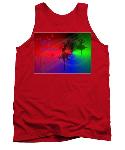 The Dance - Merry Christmas Tank Top