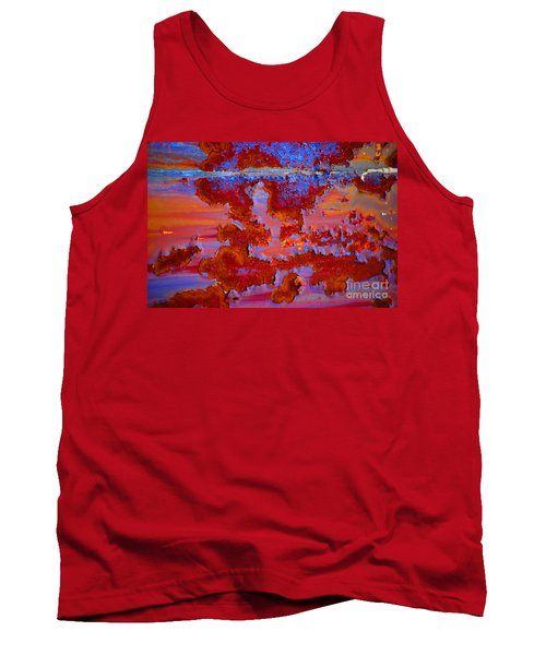 Tank Top featuring the photograph The Darkside #3 by Christiane Hellner-OBrien