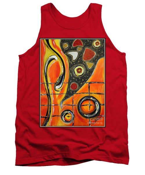 The Fires Of Charged Emotions Tank Top