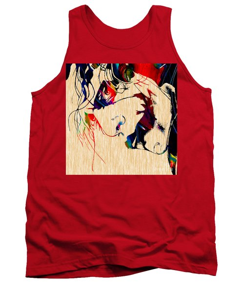 The Joker Heath Ledger Collection Tank Top by Marvin Blaine