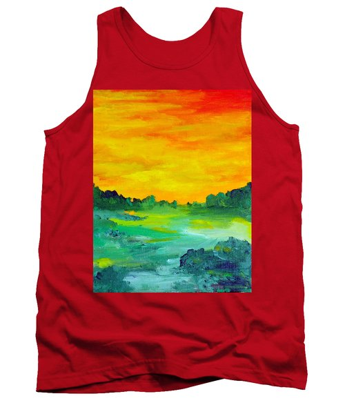 The  Lagoon Tank Top