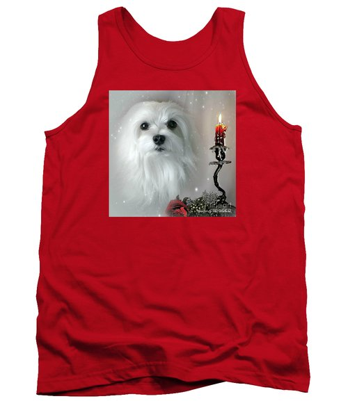 Tank Top featuring the mixed media The Light In My Life by Morag Bates