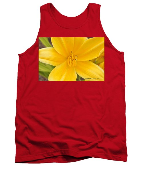 Tank Top featuring the photograph The Lily From Kentucky by Verana Stark