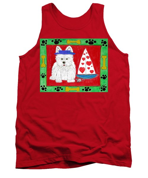 The Love Boat Tank Top by Diane Pape