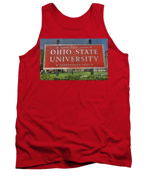 The Ohio State University Tank Top by David Bearden