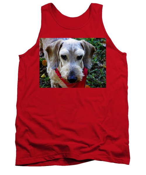 The Old Man Tank Top by Judy Wanamaker