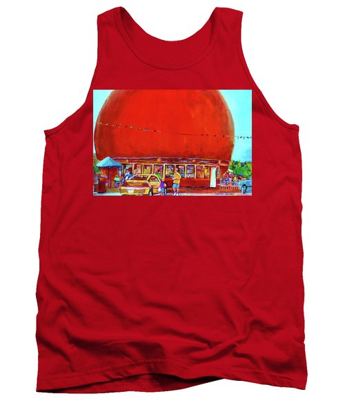 The Orange Julep Montreal Summer City Scene Tank Top