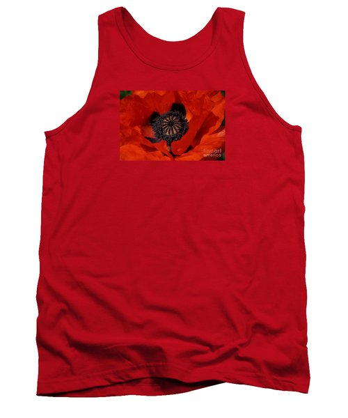 The Poppy Is Also A Flower Tank Top