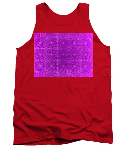 Tank Top featuring the drawing The Quantum Realm II by Jason Padgett