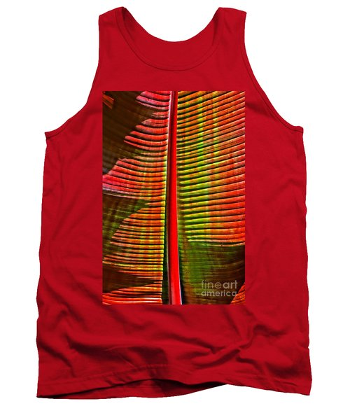 The Red Palm Tank Top