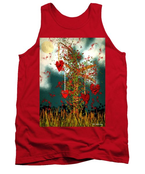 The Tree Of Hearts Tank Top