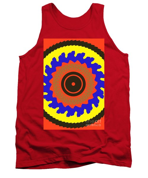 The Watcher Tank Top by Claudia Ellis