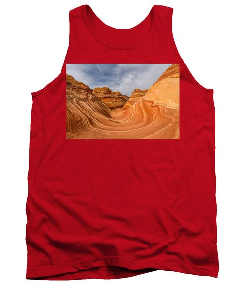 Tank Top featuring the photograph The Wave by Dustin  LeFevre
