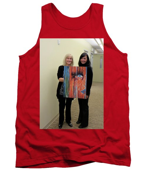Tank Top featuring the painting The Way Eye See It by Kathleen Sartoris
