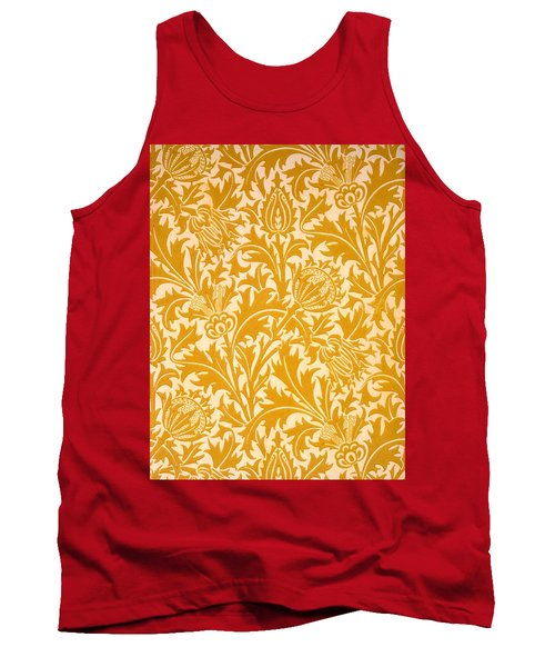 Thistle Wallpaper Design, Late 19th Tank Top