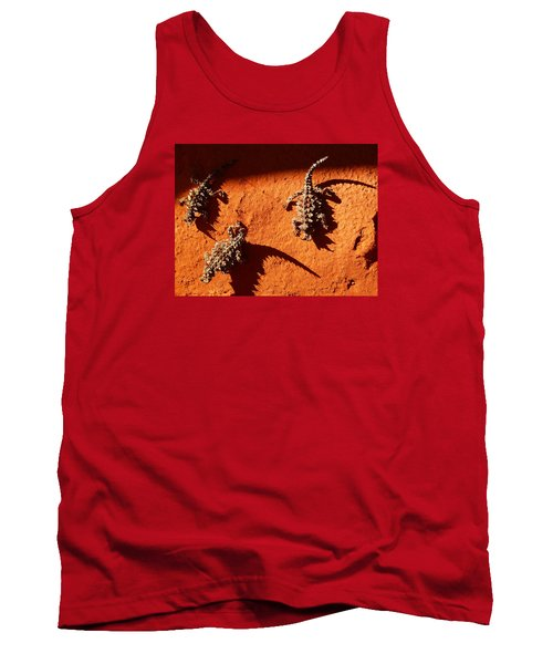 Thorny Devils Tank Top by Evelyn Tambour
