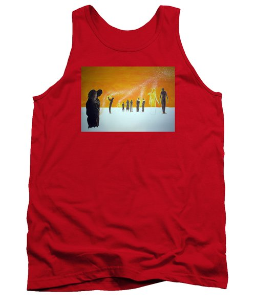 Those Who Left Early Tank Top by Lazaro Hurtado