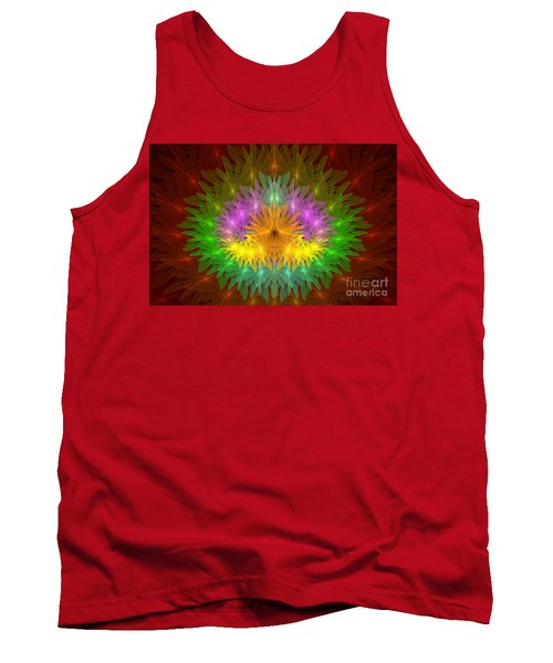 Throne Of The Queen Of Flowers Tank Top