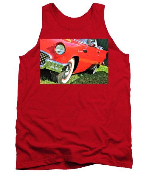 Thunderbird In Red Tank Top
