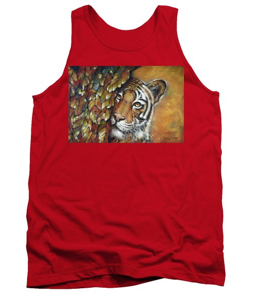 Tiger 300711 Tank Top by Selena Boron