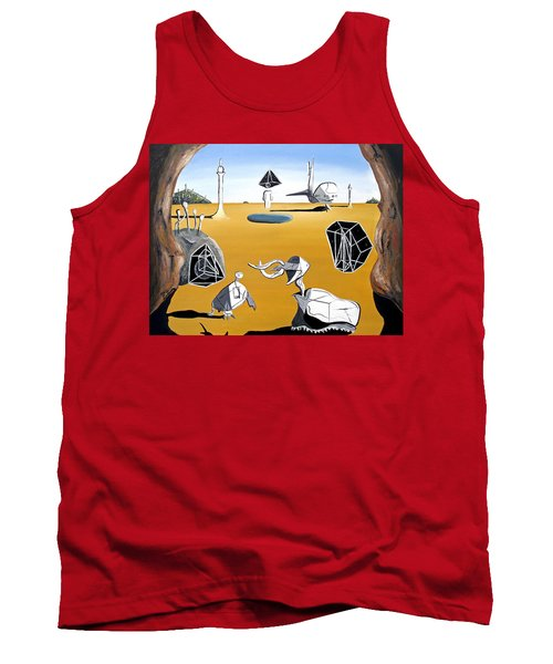 Time Travel Tank Top by Ryan Demaree