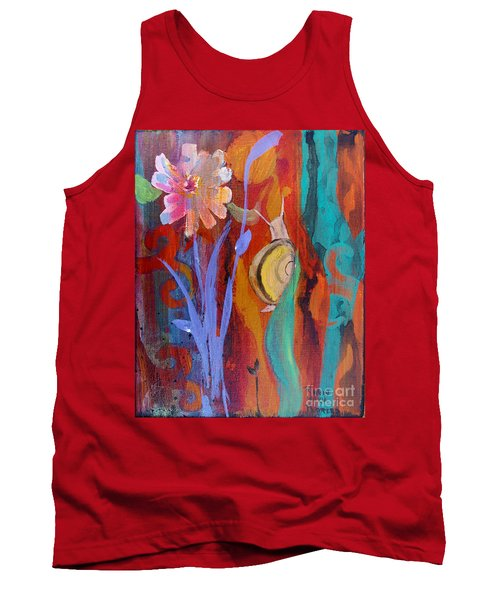 Tank Top featuring the painting Time Traveler by Robin Maria Pedrero