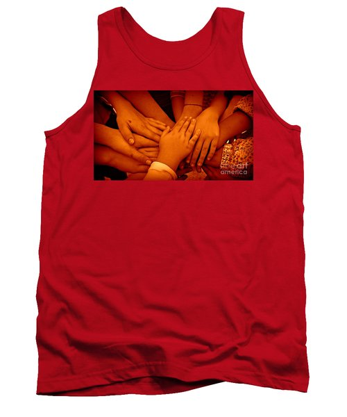 Together Tank Top by Clare Bevan