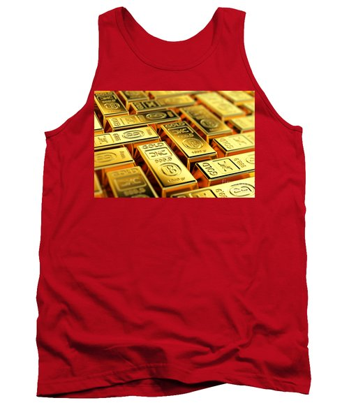 Tons Of Gold Tank Top