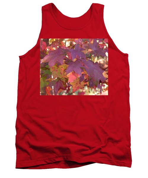 Tank Top featuring the photograph Traces Of Fall by Andrea Anderegg