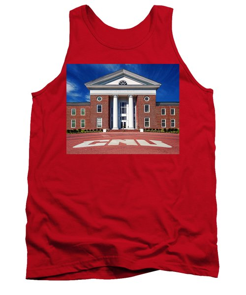 Trible Library Christopher Newport University Tank Top