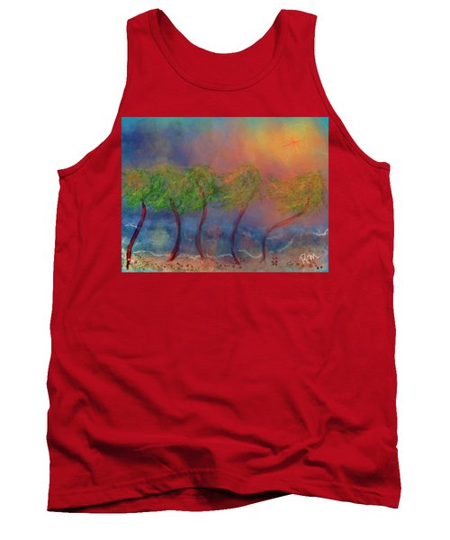 Tropical Sorm On The Way Out Tank Top by Renee Michelle Wenker