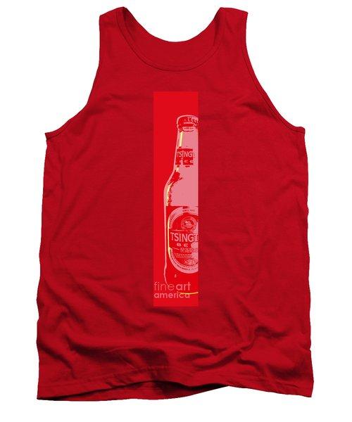 Tsingtao Beer Tank Top by Jean luc Comperat