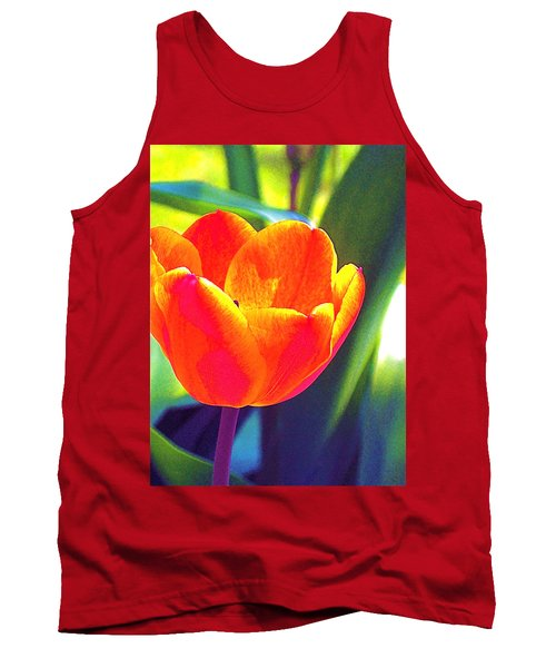 Tank Top featuring the photograph Tulip 2 by Pamela Cooper