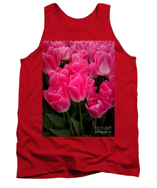 Tank Top featuring the photograph Tulip Festival - 19 by Hanza Turgul