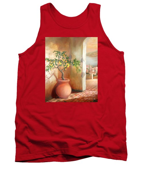 Tuscan Lemon Tree Tank Top