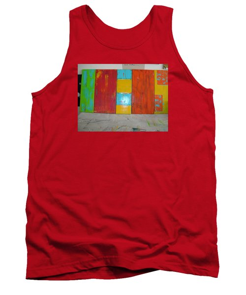 Tank Top featuring the painting Tuscany Seasons by Sharyn Winters