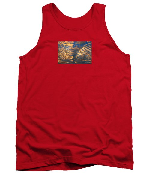 Twisted Sunset Tank Top by Janice Westerberg