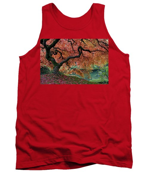 Under Fall's Cover Tank Top