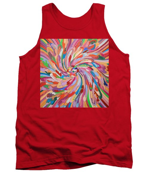 Unfolding Melody Tank Top