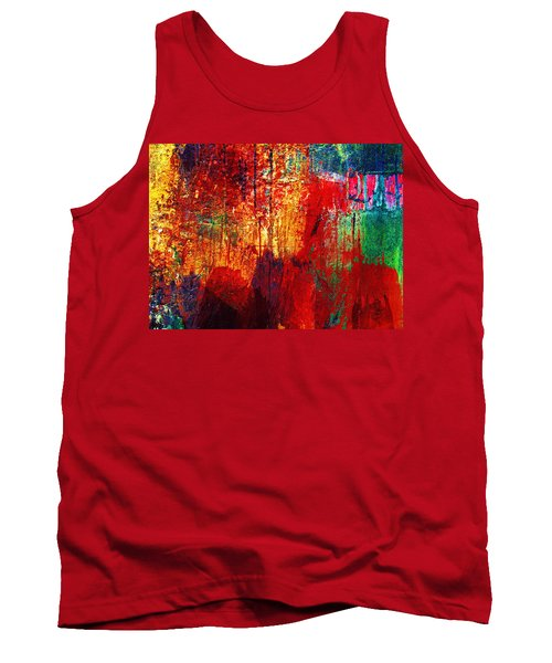 Untamed Colors  Tank Top by Prakash Ghai
